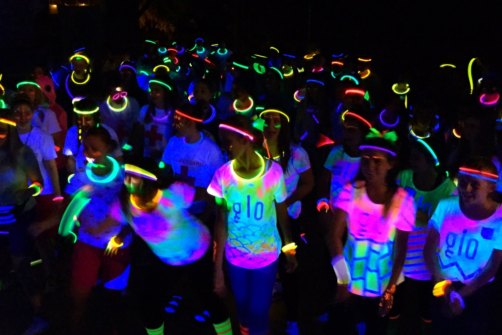 6 7 Grade Glow In The Dark Dance Jj Daniell Middle