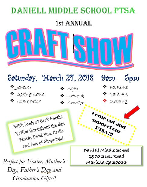 Craft Show Flyer